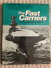 The Fast Carriers Air-Sea Operations 1941-77 SPI 1975 Flat Tray Edition