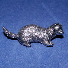 Pewter Stoat Weasel Mink Ferret Pine Marten Pin