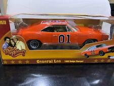 1969 Dodge Charger Dukes Of Hazzard General Lee 1:18 Diecast Car Autoworld