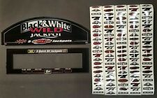 Bally Cinereel Slot Machine BLACK & WHITE WILD JACKPOT 5 Reel Kit w/ Glass