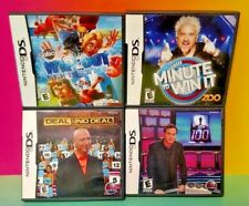 TV Game Show Lot Wipeout 1 vs 100 No Deal Minute Win Nintendo DS DS Lite 3DS 2DS
