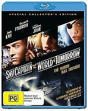 SKY CAPTAIN AND THE WORLD OF TOMORROW BLU RAY - NEW & SEALED JUDE LAW, ANGELINA