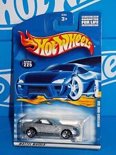 Hot Wheels 2001 Mainline #225 Mercedes-Benz SLK Silver w/ 5DOTs