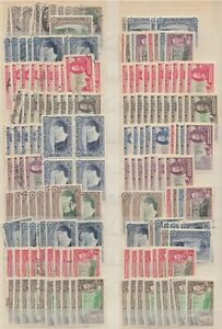 Southern Rhodesia Collection, Large Assembly (2 scans) VF Mint & F/used T131