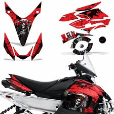 Yamaha Phazer Decal Graphic Kit Sled Snowmobile Parts Wrap RTX GT 07-16 REAP RED