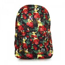 Loungefly Belle Roses Beauty & The Beast Disney Laptop Bag Backpack WDBK0220