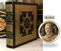 PAINTINGS IN THE LOUVRE - Easton Press - OVERSIZED BOOK