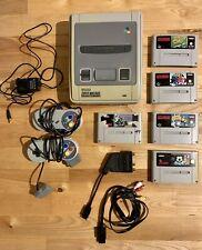 Super Nintendo Entertainment System SNES PAL Grau Spiele Konsole