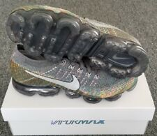 0a03fbfbdc92 NIKE AIR VAPORMAX FLYKNIT KALEIDOSCOPE MENS SZ 10.5 GREY MULTI-COLOR 849558  019