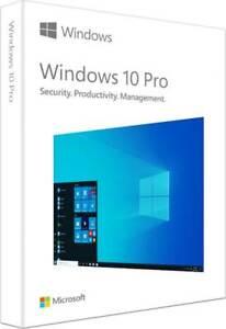 Windows 10 Pro English Windows, Manufactured Sealed Package,