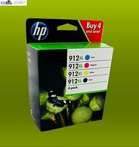 ECHTES HP Tintenpatrone 912XL Multipack für OfficeJet 8012 8014 Pro 8022 8025