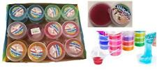 6 CONTAINERS RAINBOW UNICORN POO SLIME gooey novelty fun toy Slimey  party favor