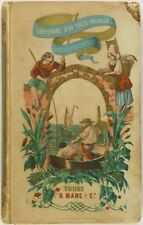 1853 Fishing - French Color Illustrated book on Fishermen, Whaling, Shellfish &+