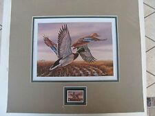 SD-7  1989  South Dakota   State Duck Print  Double Matted w/stamp  #SD7MA0 DSS