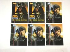 1993 star wars galaxy trading card lot of 177 cards! Luke! Leia! Darth Vader!