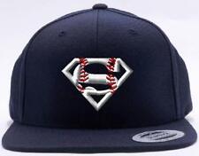 New Superman Super Baseball Player Customizable Personalized Cap Hat Gorra