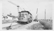 7C544 RP 1940s CSL CHICAGO SURFACE LINES RAILWAY CAR #5331 'ARGO' SIGN