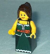 FANTASY ERA #03 Lego Female Peasant NEW 10193 Medieval-maiden Genuine Lego
