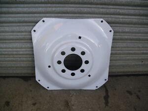 Tractor wheel dish