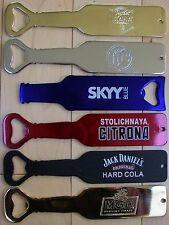 Beer and liquor bottle openers, pick 4