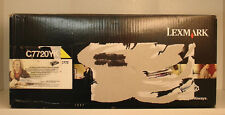 Genuine Lexmark C772 ( C7720YX ) Extra High Yield Yellow Toner (New) *** C7722YX