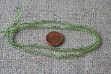 Peridot (Olivin)-Strangkette(Kugel ca. 2,7 mm) O-3447/r