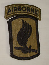 ARMY PATCH, 173RD AIRBORNE BRIGADE,OCP PATTERN,MULTICAM, WITH hook loop fastener