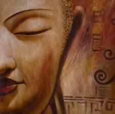 Buddha Oil Painting 28x28.NOT a poster.textured lightly, framing available.