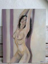 "°○•Original Ölbild,Ölgemälde,Oilpaint,Porträt,Portrait,Akt,Nude,Erotik""40x50cm"
