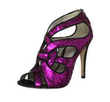 BOURNE Laila Open Toe Sequined Party Shoes BNIB
