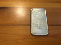 FUTURA INVESTORS LTD. BULLION TRADERS .999 Fine Silver FS 1 Troy Oz. Art Bar