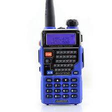 Blue BaoFeng UV-5RE+ UHF VHF Dual Band  Handheld Ham Two way Radio Walkie Talkie