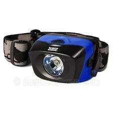 Zebco Waterproof Headlamp for Fishing, Biking Head Torch - Free 1st Class!
