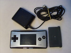Nintendo *GAME BOY micro* OXY-001 with charger and Sonic Advance 3 game *BUNDLE*