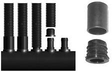 1 Paar PVC Sammelrohre 90cm für MAZDA Rippenrohrabsorber d50 mit Anschlüssen