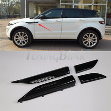 Fit for Land Rover Range Rover Evoque 2011-17 Black Side Vent Grille Mesh Grill