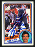 """Glenn Anderson Autographed 1984-85 O-Pee-Chee Card Oilers """"Best Wishes"""" 151861"""