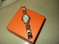FOLLI FOLLIE WOMAN WATCH BRACELET ROSE GOLD PLATED SWAROVSKI CRYSTALS 25mm*BOX