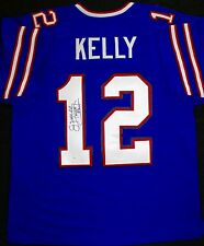 Jim Kelly Autographed Signed Buffalo Bills Jersey HOF Super Bowl OA COA