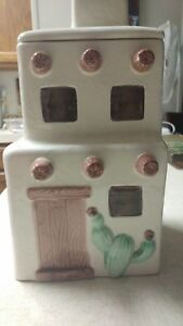 Cute Canisters Set 2 Kitchen Food Storage Containers Coffee Sugar Tea Jars