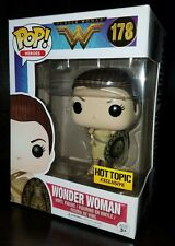 Funko Pop DC Amazon Wonder Woman Movie Hot Topic Exclusive NEW READY TO SHIP