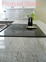 kitchen worktops Kashmir White granite Sample