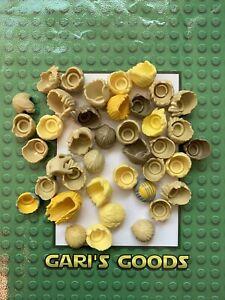Lego Male Yellow & Tan Hair Bundle GENUINE GREAT !!!