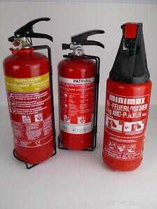 Feuerlöscher, Feuerwehr Löschgerät Gloria abc-pulver5 Zeiten sind abgelaufen...