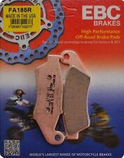 HONDA CR 125/ 250 EBC SINTERED FRONT BRAKE PADS FA185 R FITS YEARS 1995 TO 2007