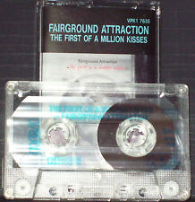 Fairground Attraction ‎ First Of A Million Kisses CASSETTE ALBUM Folk Rock Pop