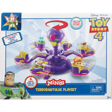 DISNEY PIXAR TOY STORY 4 MINIS TERRORANTULUS PLAYSET INCLUDES BUZZ LIGHTYEAR NEW