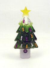 Christmas Tree LED Night Light Bright White Auto On/Off NEW Night Light FASTSHIP