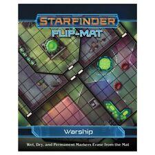Miscellanous RPGs Starfinder: Flip-Mat: Warship