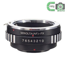 AF-FX Sony A Minolta Lens to Fujifilm Fuji FinePix X-Pro1 X Pro 1 T1 E2 Adapter